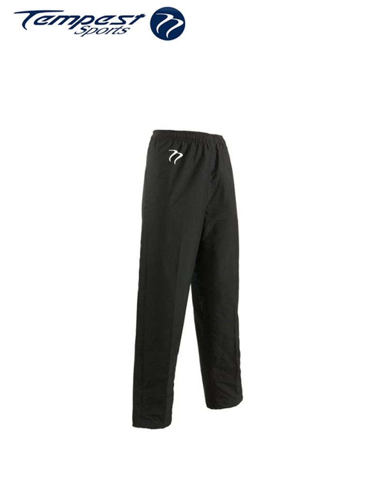 Umpires Black Mens Tracksuit Bottoms