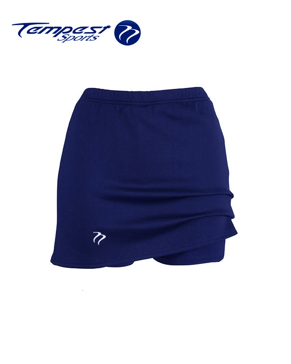 Sets of 10 Tempest Classic Women's  Navy Lycra Skort