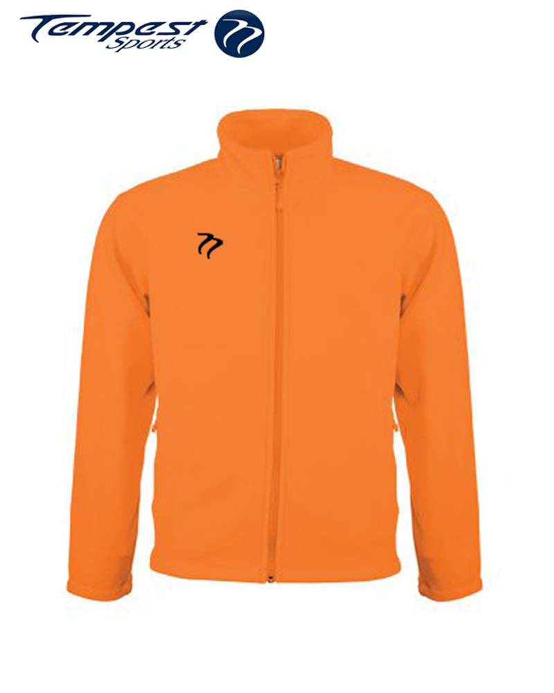 Umpires Orange Micro Fleece Top