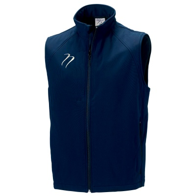 Navy Soft Shell Gillet