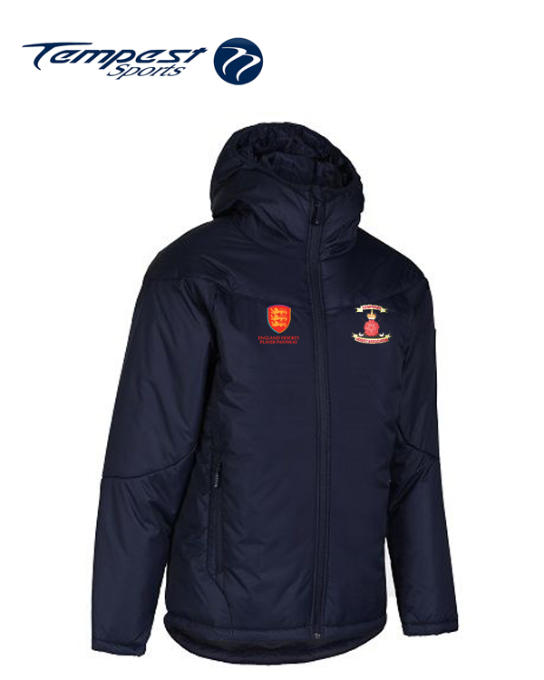Hampshire Coaches Navy Manager Coat