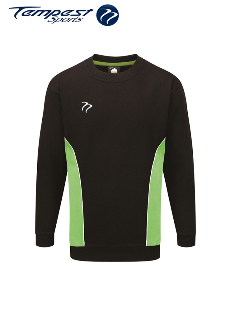 Umpires Black Green Sweatshirt
