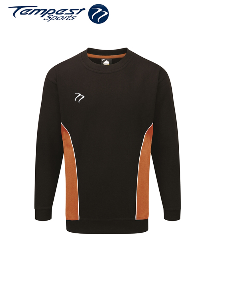 Umpires Black Orange Sweatshirt