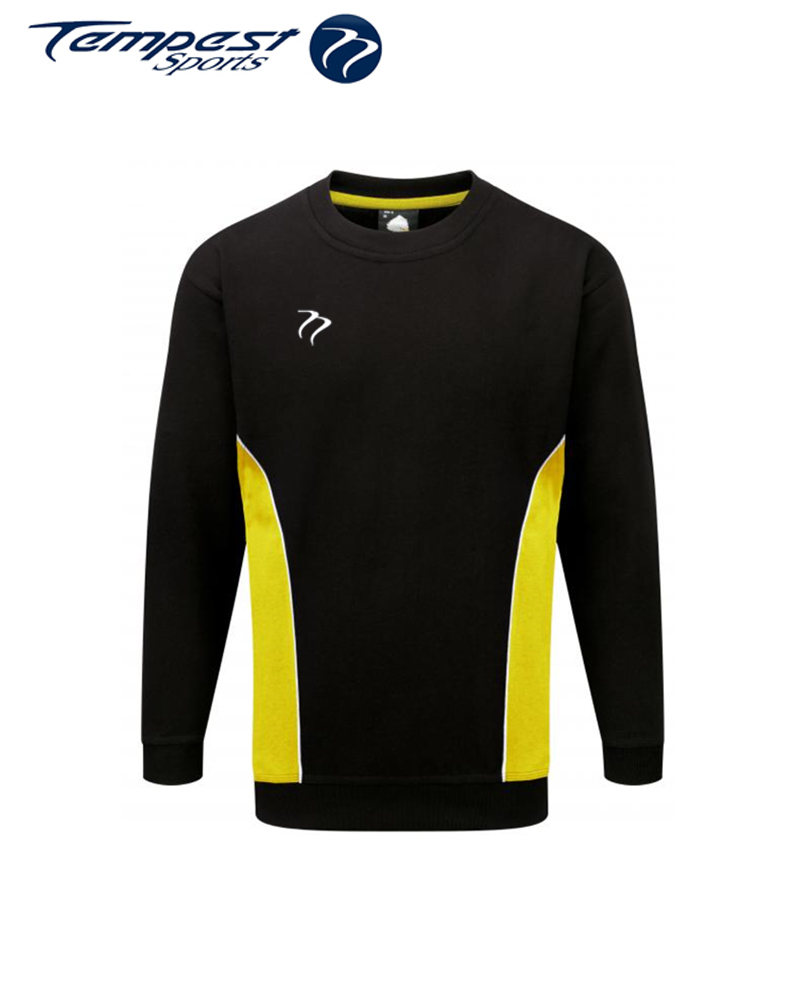 Umpires Black Yellow Sweatshirt