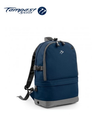 Tempest Sports Navy/Grey Backpack