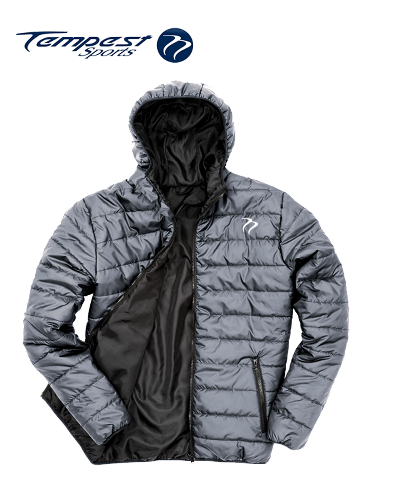 Tempest Padded Jacket Grey Black