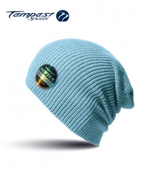 Umpires Light Blue Beanie Hat