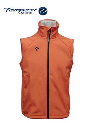 Tempest Orange/Black Soft Shell Gilet