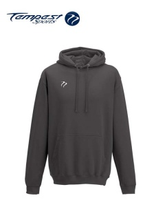 Tempest Lightweight Charcoal Hooded Sweatshirt