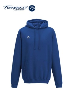 Tempest Lightweight Royal Hooded Sweatshirt