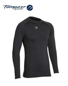 Tempest Unisex Black Baselayer