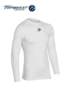 Tempest Unisex White Baselayer