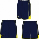 Classic Style Men's NavyYellow Playing Short