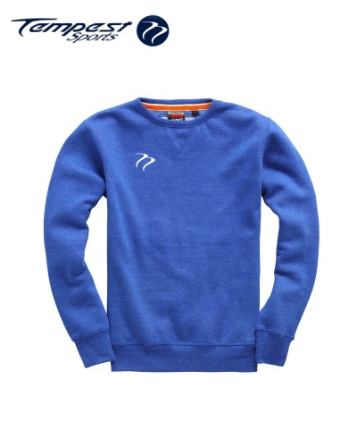 Tempest Heavyweight Sweater - Royal Melange