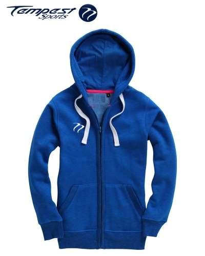 Tempest Ladies zip hoodie - Twilight Blue
