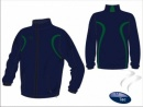 Evo Style Navy Green Unisex Splash Jacket