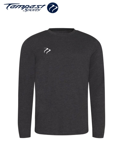 Tempest Long Sleeve Tshirt Charcoal