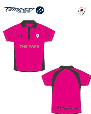 Nomads Men's Pink Black Playing Shirt