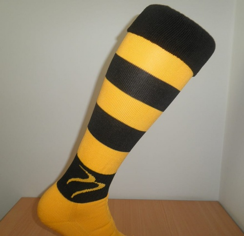 Tempest Socks Black/Gold