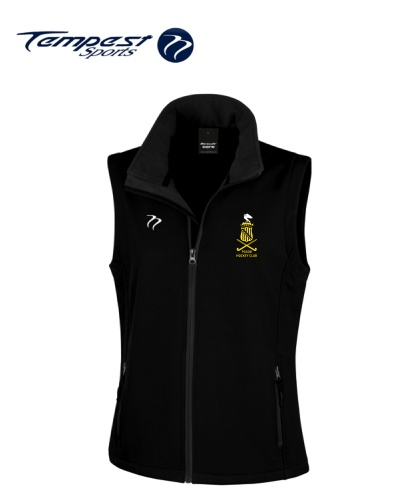 PGSOB Black Soft Shell Gilet