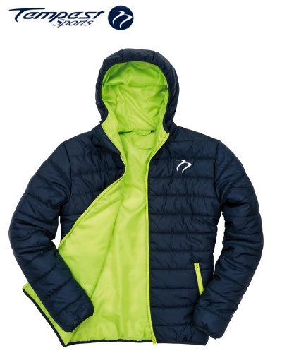 Tempest Padded Jacket Navy Lime
