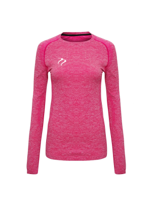 Tempest Women's seamless '3D fit' multi-sport performance long sleeve top Pink