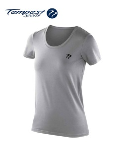 Tempest Women's Light Grey Active T-shirt