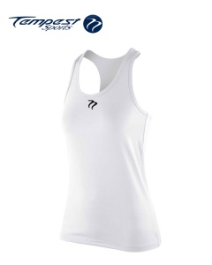 Tempest Women's White  Active Vest