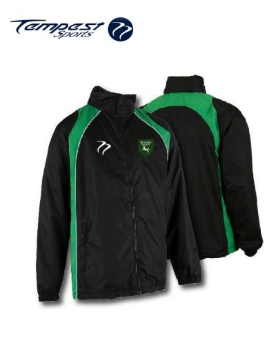 Wiltshire 'CK' Black Green Splash Jacket