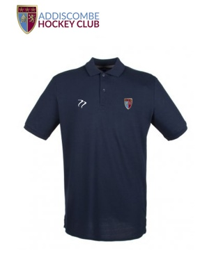 Addiscombe Mens  Navy Polo Shirt