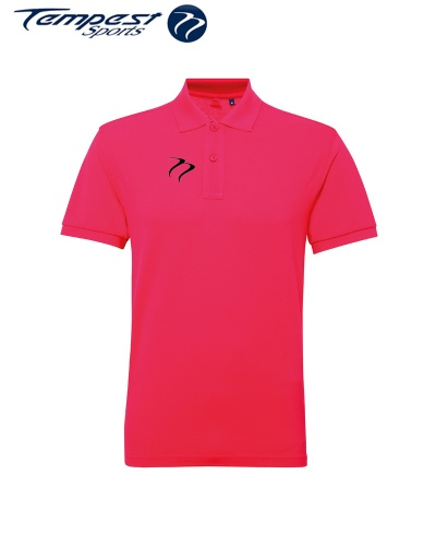 Poly/Cotton Mens Hockey Umpires Pink Shirt