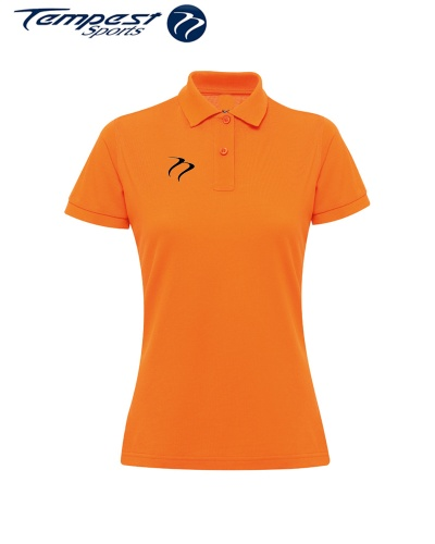Poly/Cotton Hockey Umpires Orange Shirt