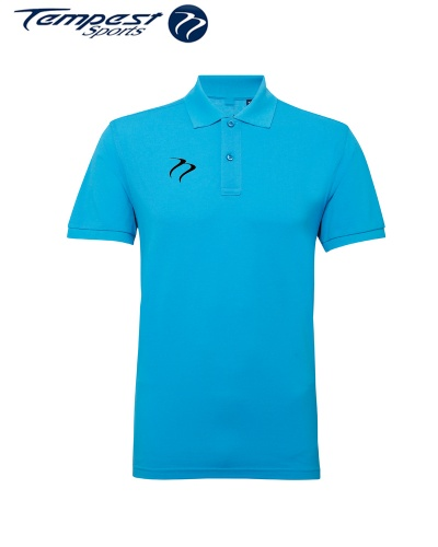 Poly/Cotton Mens Hockey Umpires Turquoise Shirt