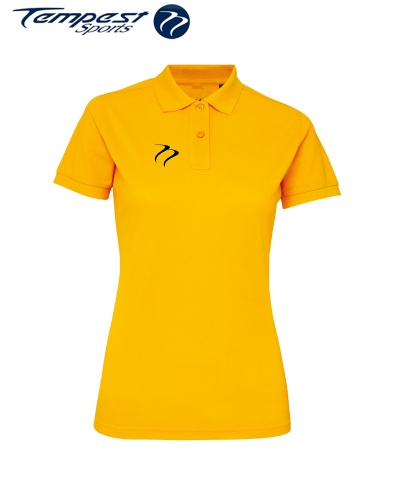 Poly/Cotton Hockey Umpires Yellow Shirt