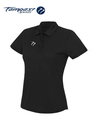 Ladies Premium Hockey Umpires Black Shirt