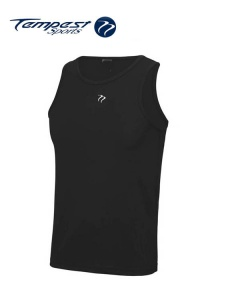 Tempest Black Men's Training Vest