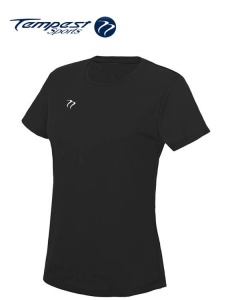 Tempest Women's Black Training T-shirt
