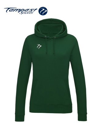 Tempest Lightweight Ladies Bottle Green Hooded Sweatshirt