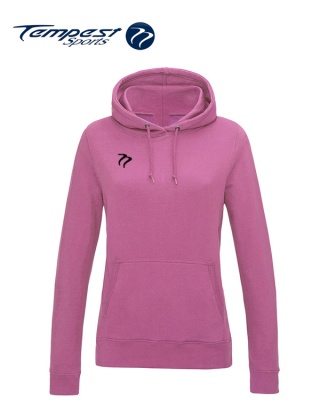 Tempest Lightweight Ladies CF Pink Hooded Sweatshirt