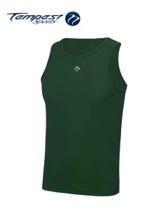 Tempest Dark Green Men's Training Vest
