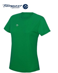Tempest Women's Green Training T-shirt