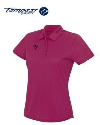 Ladies Premium Hockey Umpires Pink Shirt