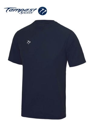 Tempest Lightweight Navy Mens Training Shirt