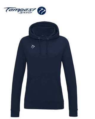 Tempest Lightweight Ladies French Navy Hooded Sweatshirt