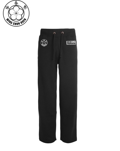 WCKUK Mens Black Jogging Pants