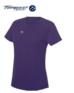 Tempest Women's Purple Training T-shirt