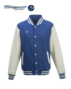 Tempest Varsity Royal White Jacket