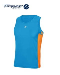Tempest Sapphire Orange Men's Training Vest