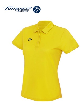 Ladies Premium Hockey Umpires Yellow Shirt