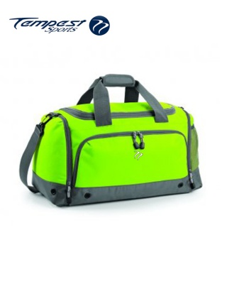 Tempest Sports Lime/Grey Holdall